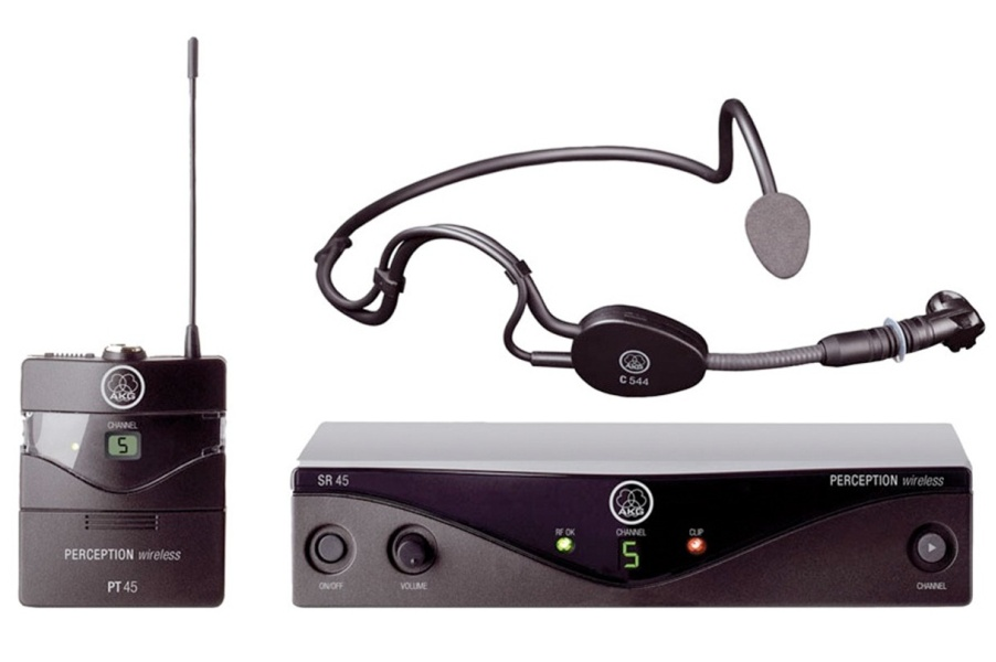 AKG WMS45 (Band A: 530-560MHz) Perception Wireless Sports Set-0