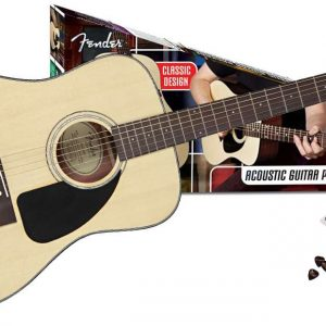 Fender CD60 Pack Natural (ook in zwart & sunburst)-0