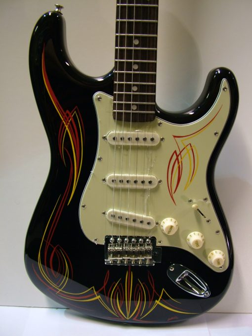 DooDad Strat Custom painted-1772