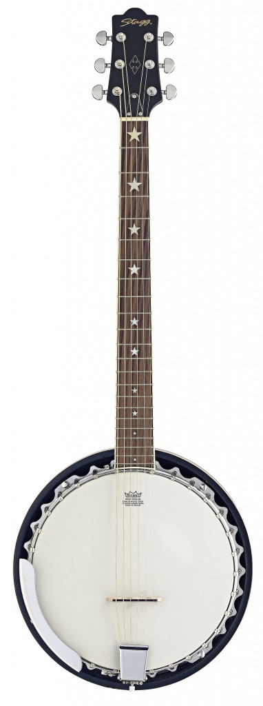 Stagg BJM 30 G Banjo 6 string-0