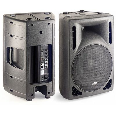 "Stagg SMS 15 P, 2 weg 220 W biamp 15"" + horn/tweeter-0"