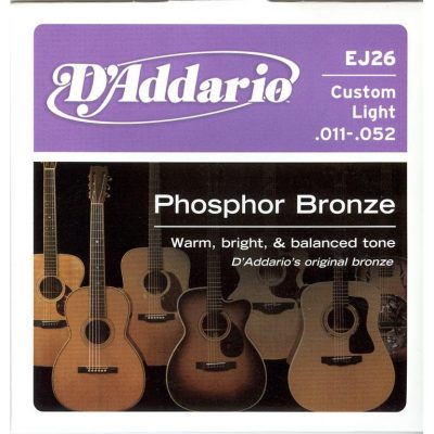 3 set D'addario EJ Phosphor Bronze -0