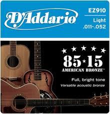 3 set D'addario EZ Western snaren -1011