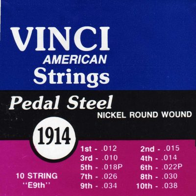 Vinci Pedal Steel 1914 (2 sets)-0