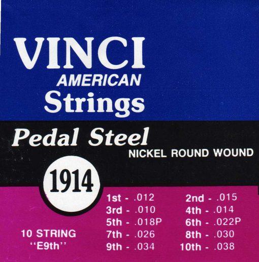 Vinci Pedal Steel 1914 (2 sets)-0