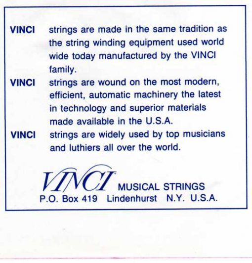 Vinci Pedal Steel 1914 (2 sets)-1357