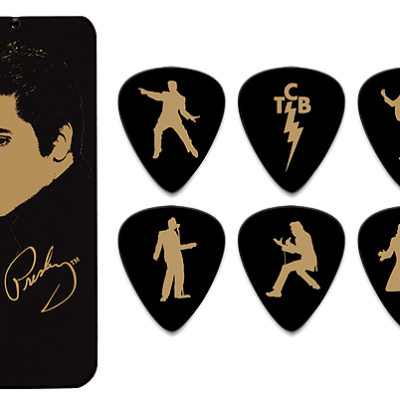 Dunlop Elvis Portrait Collection Picks (6 in doos)-0