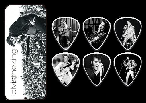 Dunlop Elvis the King Picks (6 in doos)-0