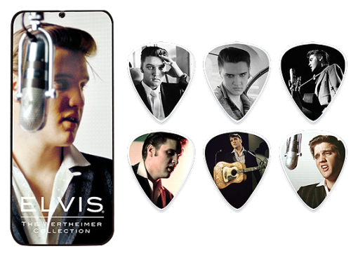Dunlop Elvis Wertheimer Collection Picks (6 in doos)-0