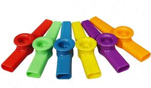 Kazoo kunstof div. kleuren-0