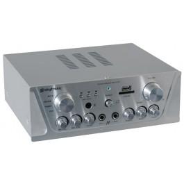 Skytronic Karaoke Versterker met USB/SD afspeel mogelijkheid-0