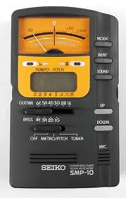 Seiko SMP 10 Tuner and Metronome All In One-0