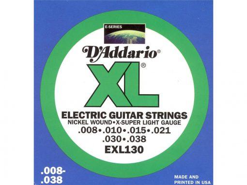 D'Addario EXL (Div. maten) 008-009-010-011-2284