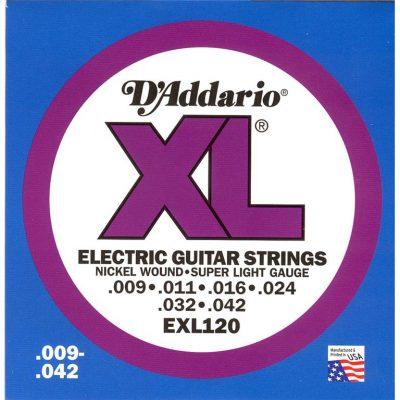 D'Addario EXL (Div. maten) 008-009-010-011-0