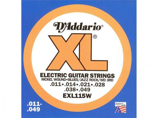 D'Addario EXL (Div. maten) 008-009-010-011-2288