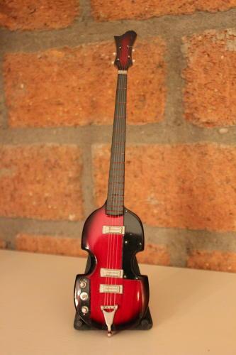 Miniatuur Vioolbas (div. kleuren) incl. stand-0