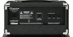 Ampeg Micro-CL Stack basversterker top en speakerkast -2746