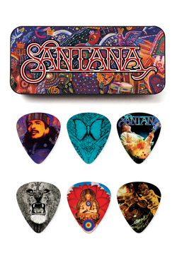 Dunlop Santana Picks (6 in doosje)-0