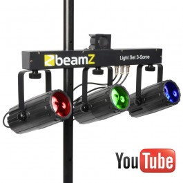 3-Some Lichtset 3x 57 RGBW LED's-0