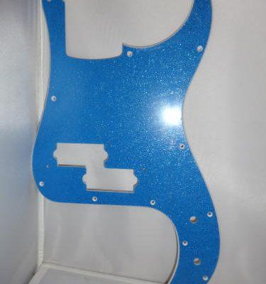 Slagplaat Prec. Bas, Sparkling Blue-0
