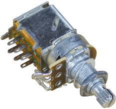Retro Parts RP206 Volume 500K OHMS Push-Pull Potentiometer-0