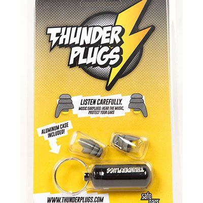 Thunderplug oordoppen set + opberkokertje-0