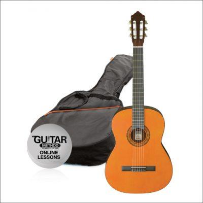 Ashton CG 34 Klassieke gitaar Pakket 3/4 model-0