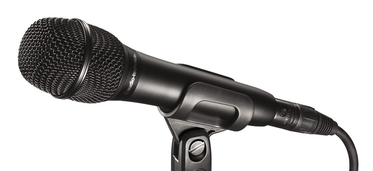 Audio technica AT2010 Cardioid Condenser Handheld Microphone-0