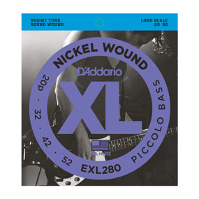 D'Addario EXL280 Piccolo Bass Strings-0