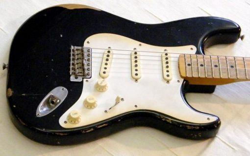 Fender Road Worn 50s Stratocaster Black -0