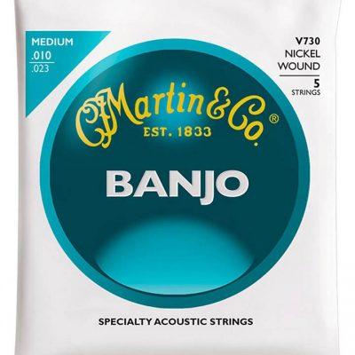 Martin snarenset voor 5-snarige banjo V-730 -0