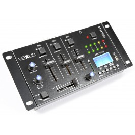 Vexus STM3030 4-Kanaals Mixer USB/MP3/BT/REC-0
