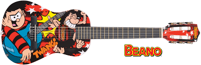 The Beano Junior Guitar Outfit 1/2 model-0