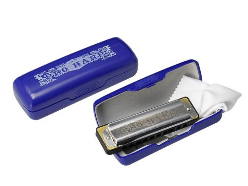 Belcanto St. Louis Pro Series blues harp HRM-60-C -0