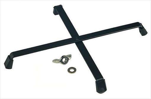 K&M 17731 kegel voor Engelse Hoorn + K&M 17700 kruisvoet black-4620