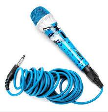 Jammin Microfoon incl kabel xlr/jack (div. kleur/prints)-4674