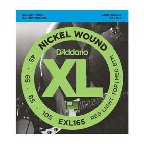 Daddario EXL165 snarenset 4 string voor elektrische basgitaar-0