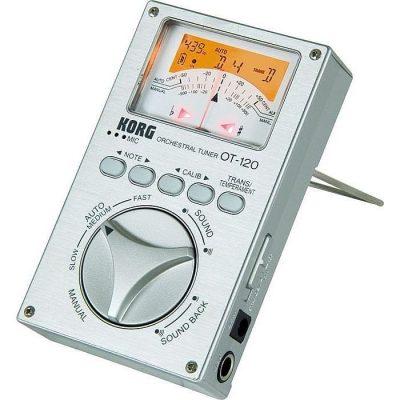 Korg Orchestral Tuner met analoge meter OT 120-0