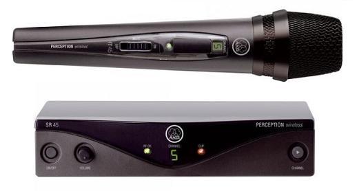AKG WMS45 Perception Wireless Vocal Set (Band A, 530 - 559 MHz)-0