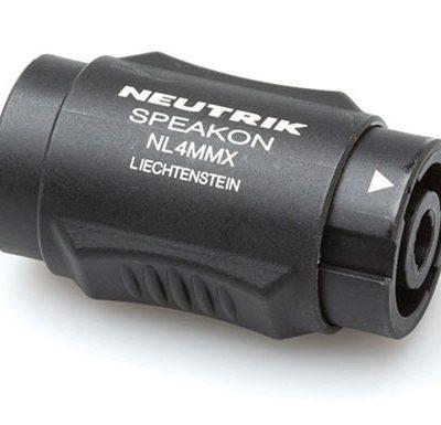 Neutrik NL4MMX speakON 4P koppelstuk-0