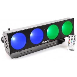 BeamZ LUCID 1.4 4x 10W COB LED's-0