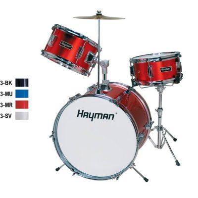 Hayman Junior Series 3-delig drumstel HM-33-BK -0