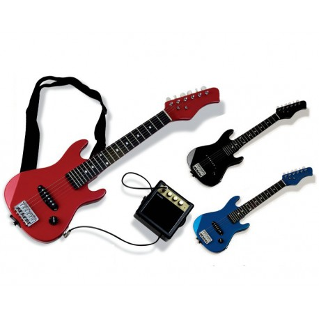 Electric Guitar Set Kids Pink CX-S053 -0