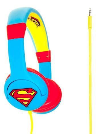 Superman Man of Steel Premium Headphones (Blue)-0