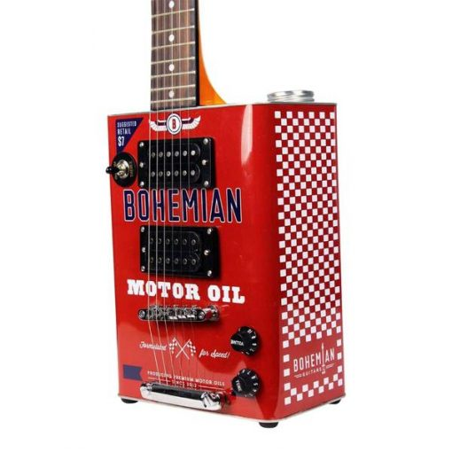 Bohemian Motor Oil - Electric Guitar - 2 x humbuckers-0