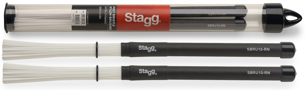 Stagg SBRU10-RN Brushes (kunststof)-0
