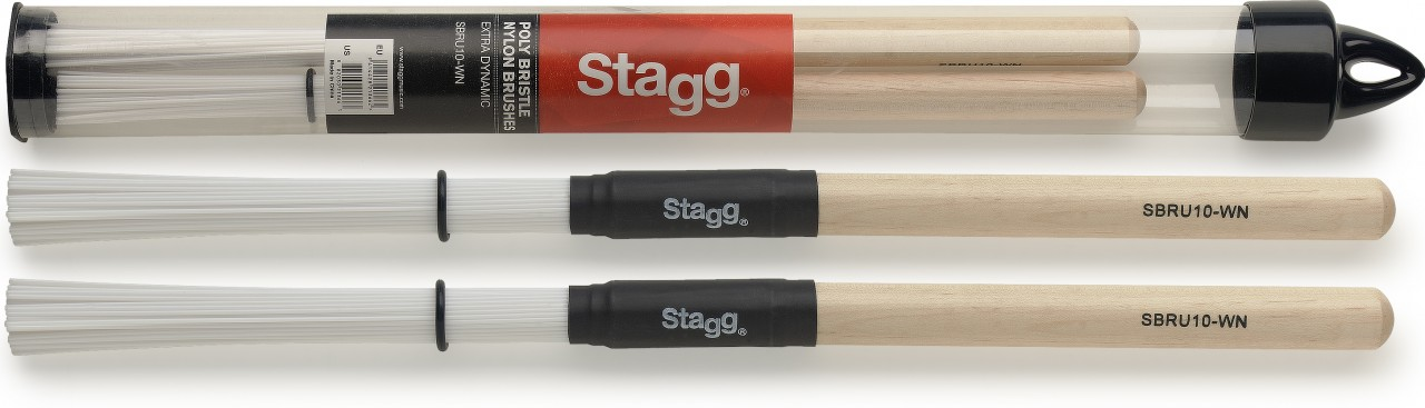 Stagg SBRU10-WN Brushes (nylon)-0