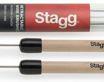 Stagg SBRU20-WM Brushes (metaal)-0