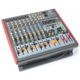 Power Dynamics PDM-S1203A Mixer Versterker 12-Kanaals DSP/MP3- USB IN/UIT 171.151-0
