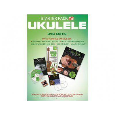 Starter Pack Ukulele (Boeken & CD) + DVD-NL-0